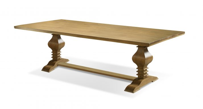 Tower Dining Table Country Pine