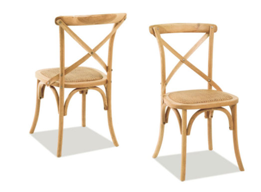 Paris Side Chair Natural
