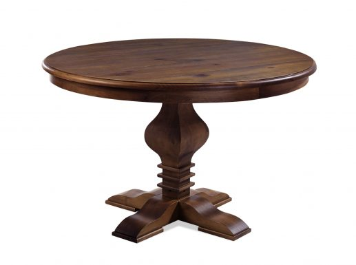 Tower Round Dining Table Cinnamon