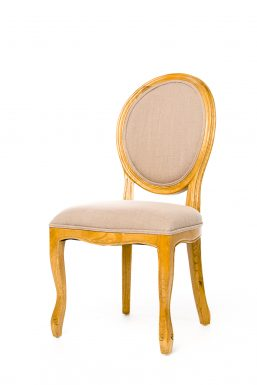 Medallion Side Chair Natural